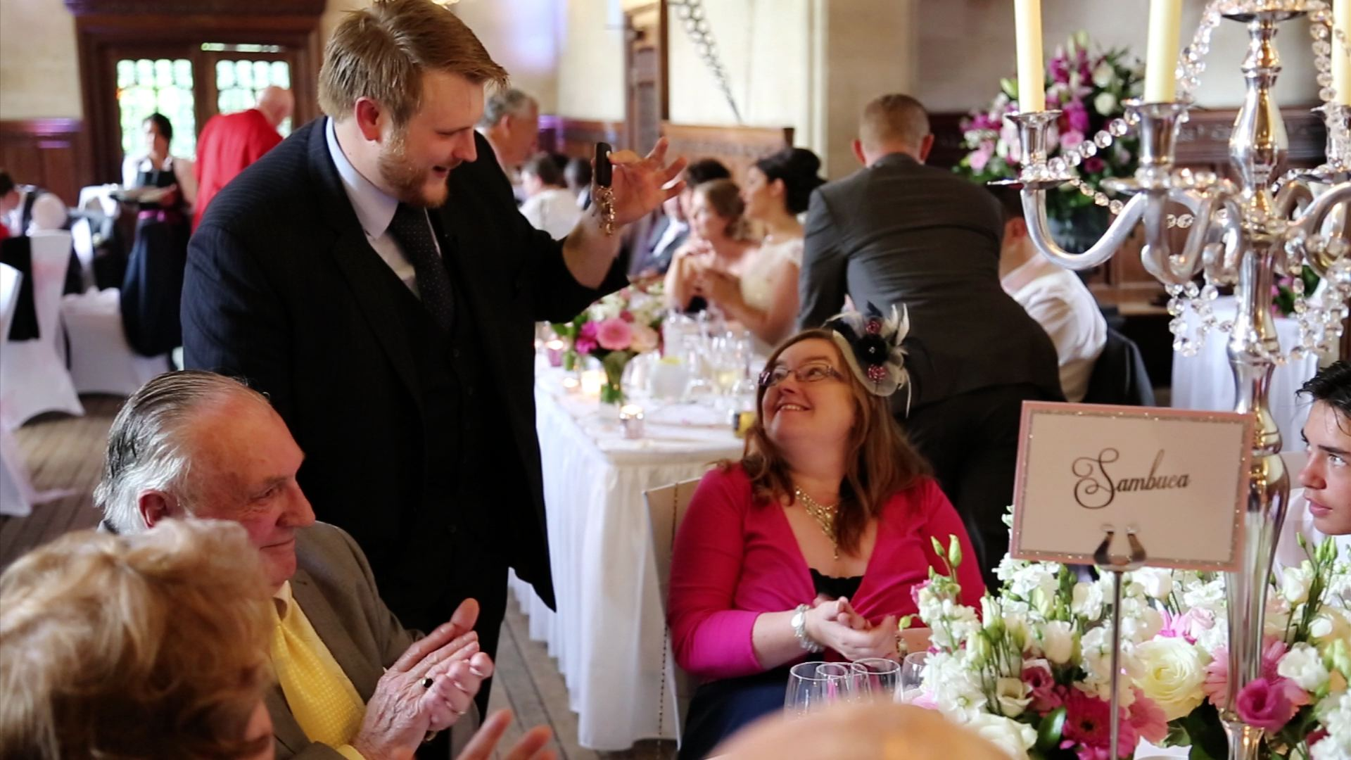 Wedding Magician at Fanhams Hall, Ware, Hertfordshire