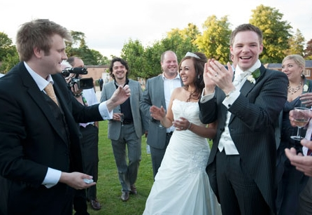 Wedding Magician at Brocket Hall,  Welwyn Garden City, Hertfordshire