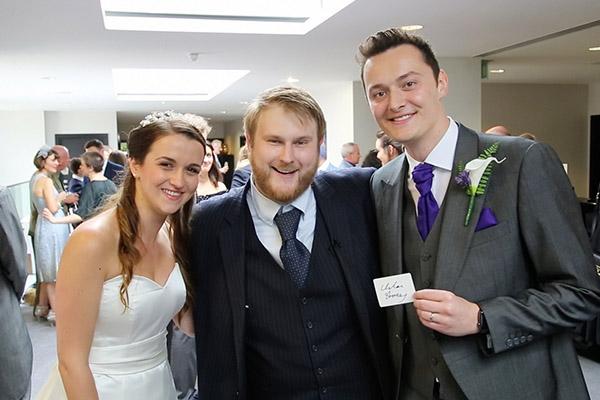 Buckinghamshire wedding magician CW Magic
