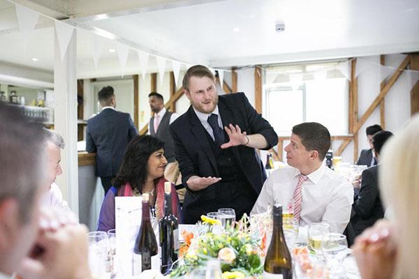 Buckinghamshire wedding magician, Chris Whitelock