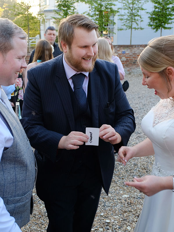 Essex Wedding Magician