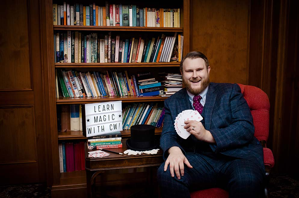 Magic Lessons with Christopher Whitelock