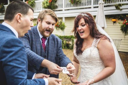 Christopher Whitelock Wedding Magician