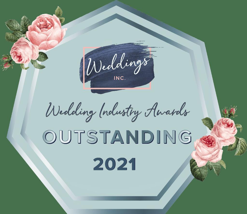 Outstanding, Wedding Industry Awards 2021